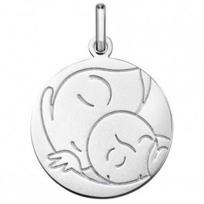 Médaille Vierge/Enfant (Argent)