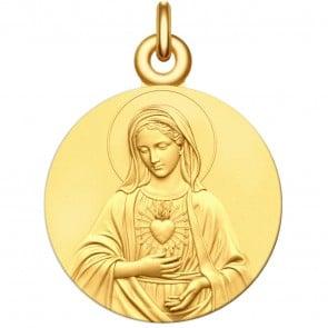Médaille Vierge Marie au coeur