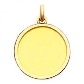 Médaille Cachet Laïque  - medaillle bapteme Becker