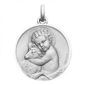 Médaille Enfant Jésus (argent)