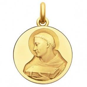 Médaille Moine - medaillle bapteme Becker
