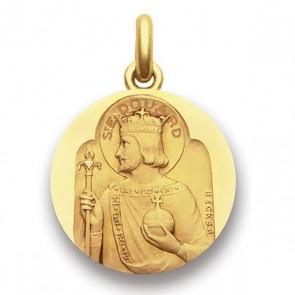 Médaille Saint Edouard  - medaillle bapteme Becker