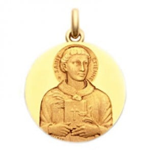 Médaille Saint Etienne  - medaillle bapteme Becker