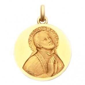 Médaille Saint François Xavier  - medaillle bapteme Becker