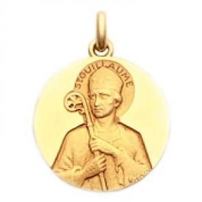 Médaille Saint Guillaume  - medaillle bapteme Becker