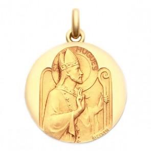 Médaille Saint Hugues  - medaillle bapteme Becker