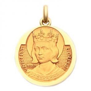 Médaille Saint Louis  - medaillle bapteme Becker