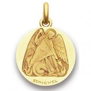 Médaille Saint Michel  - medaillle bapteme Becker