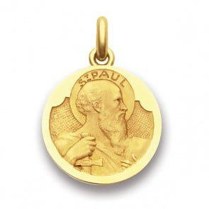 Médaille Saint Paul  - medaillle bapteme Becker