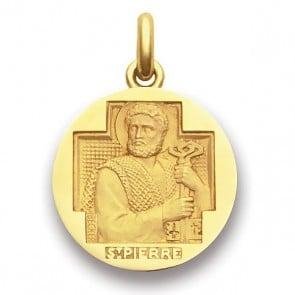 Médaille Saint Pierre  - medaillle bapteme Becker