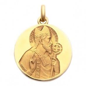 Médaille Saint Thierry  - medaillle bapteme Becker