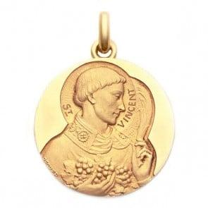 Médaille Saint Vincent  - medaillle bapteme Becker