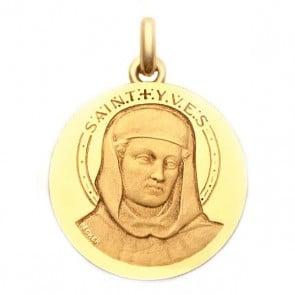 Médaille Saint Yves  - medaillle bapteme Becker