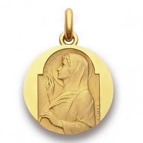 Médaille Sainte Sabine  - medaillle bapteme Becker