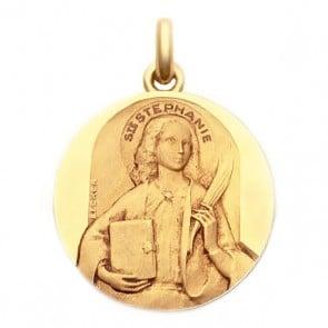 Médaille Sainte Stéphanie  - medaillle bapteme Becker