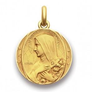 Médaille Sainte Thérèse  - medaillle bapteme Becker