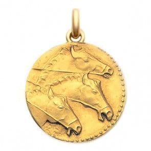 Médaille Sceau Grec  - medaillle bapteme Becker
