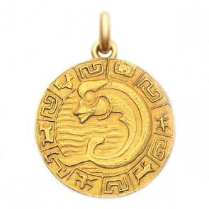 Médaille Sceau Mexicain  - medaillle bapteme Becker