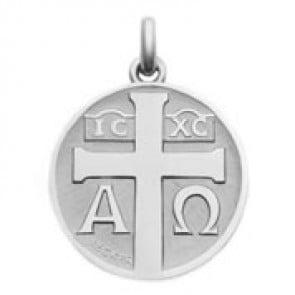Médaille Symbole Croix (Argent)