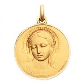 Médaille Becker Vierge Amabilis (Or Jaune)
