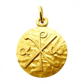 Médaille Chrisme Martineau (Or Jaune)