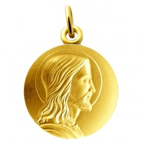 Médaille Christ MARTINEAU (Or Jaune)
