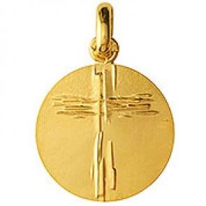 Médaille Croix Stylisée de Lay (Or Jaune)