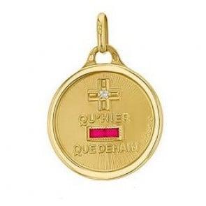 Médaille d'Amour (Or Jaune)