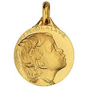 Médaille Eveil à la Vie (Or Jaune)