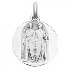 Médaille Zodiaque Gémeaux BECKER ( argent)