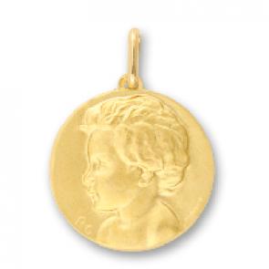 Médaille L'enfant (Or Jaune 9k)