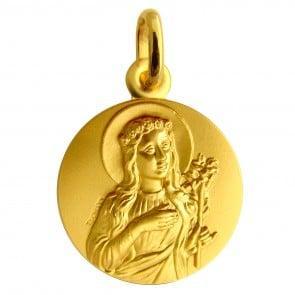 Médaille Sainte Philomène (Or Jaune)