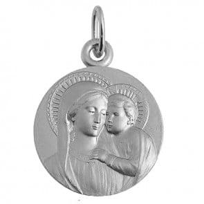 Médaille Vierge et l'enfant (Argent)