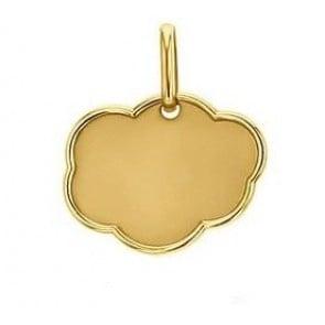 Médaille Nuage (Or Jaune)