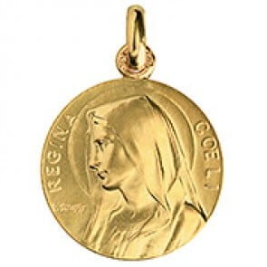 Médaille Vierge Regina Coeli (Or Jaune) - La Monnaie de Paris