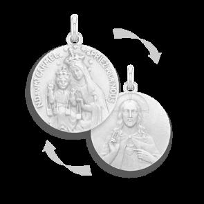 Médaille Scapulaire-15mm (argent)