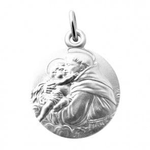 Médaille Saint Antoine de Padoue Martineau (Argent)
