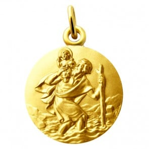 Médaille Saint Christophe Martineau (Or Jaune)