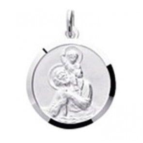 Médaille Saint Christophe (Argent)