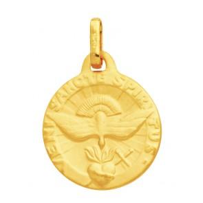 Médaille Saint Esprit (Or Jaune)