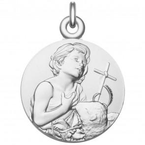 Médaille Saint Jean-Baptiste argent