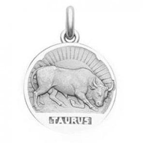 Médaille Zodiaque Taureau BECKER ( argent)