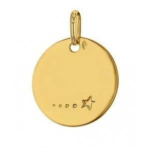 Médaille Une étoile passe (Or Jaune)