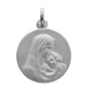 Médaille Vierge à l'Enfant (argent)