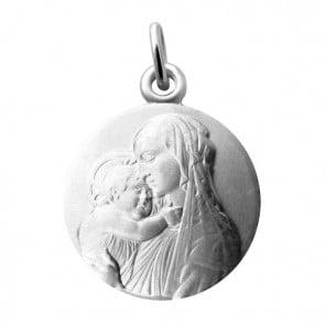 Médaille Vierge à l'enfant Botticelli Martineau (Argent)