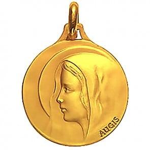 Médaille Augis Vierge au voile