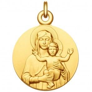 Médaille Vierge à l'Enfant bénissant