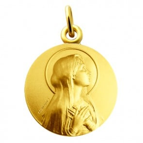 Médaille Virgo Maria Martineau (Or Jaune)