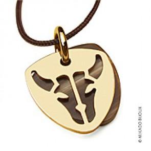 Pendentif Buffalo (or Jaune)