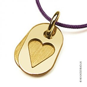 Pendentif Coeur Corazon (or Jaune)
